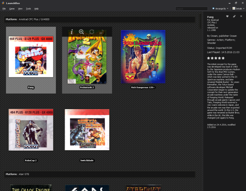 Amstrad games on Launchbox.PNG